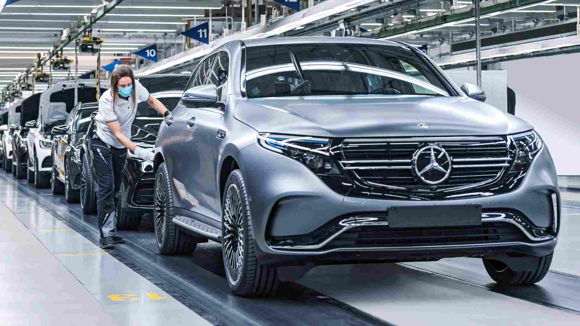 Un certain nombre de constructeurs automobiles, dont Mercedes-Benz, se sont déjà engagés dans un avenir entièrement électrique.  Image : Mercedes-Benz
