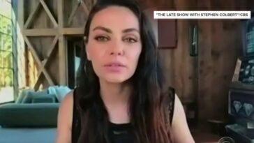 Mila Kunis regrette d'avoir convaincu Ashton Kutcher d'abandonner son billet pour l'espace
