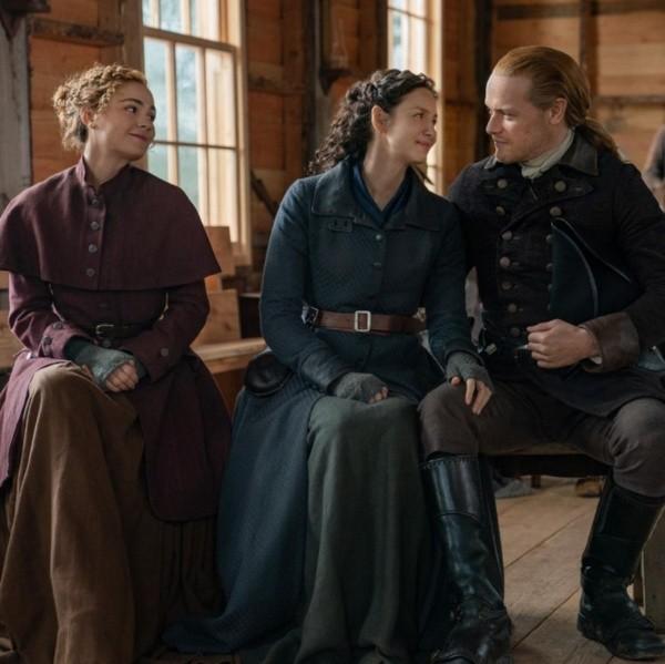 Outlander sera renouvelé l'année prochaine.  Photo : (Starz)