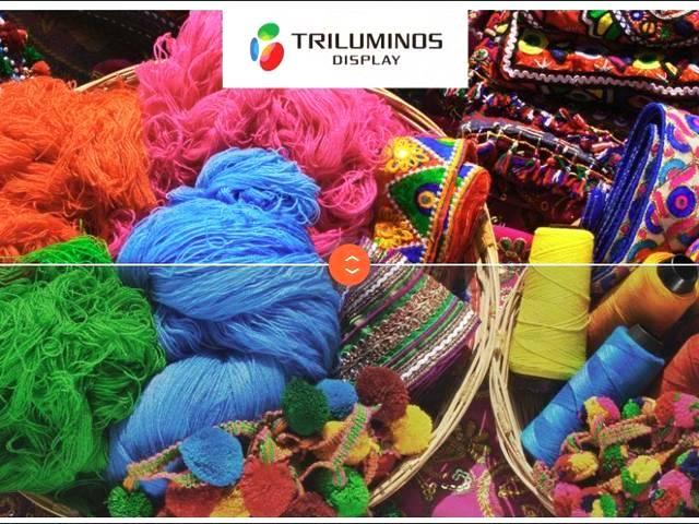 Une profondeur de couleur plus élevée (moitié supérieure), comme le permet la technologie Triluminos de Sony, peut rendre l'image plus réaliste.
