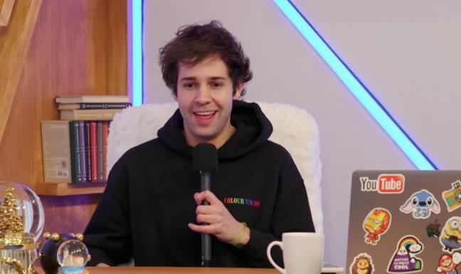 David Dobrik est un YouTuber et une star des réseaux sociaux (Crédit: Youtube/Vues)