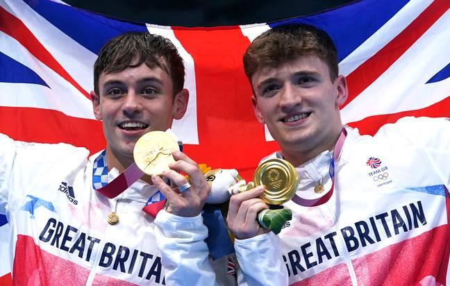 Tom Daley et Matty Lee remportent des médailles d'or à Tokyo 2020 (Crédit: PA)