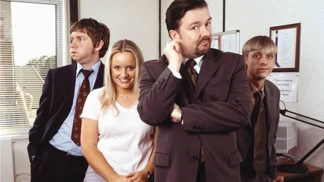 Gervais pense que The Office serait annulé s'il sortait aujourd'hui.  Crédit : BBC