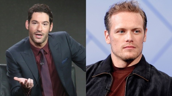 Sam Heughan and Tom Ellis are great friends.  Photos: (Getty)