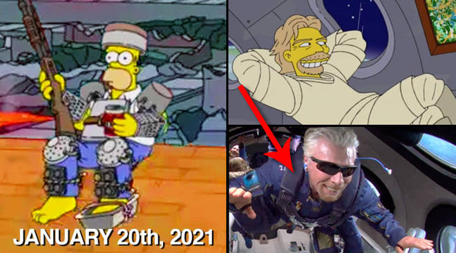 Simpsons Predictions 2021: Tout ce qui s'est passé jusqu'à présent