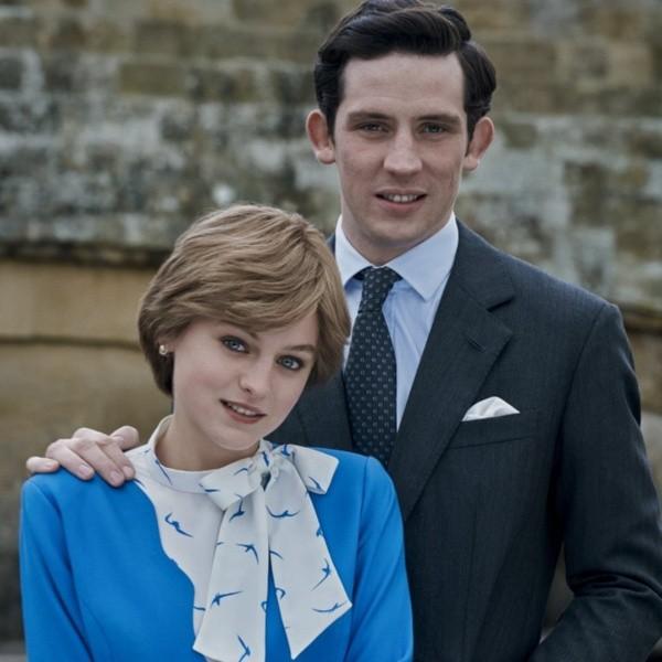 Les interprètes de Lady Di et du Prince Charles dans The Crown.  Photo: (Netflix)