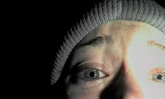 L'utilisateur de TikTok estime que le projet Blair Witch est le film le plus effrayant.  Crédit : Artisan Divertissement