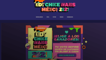 Vous pouvez désormais voter pour les finalistes des Kids' Choice Awards Mexico 2021 !
