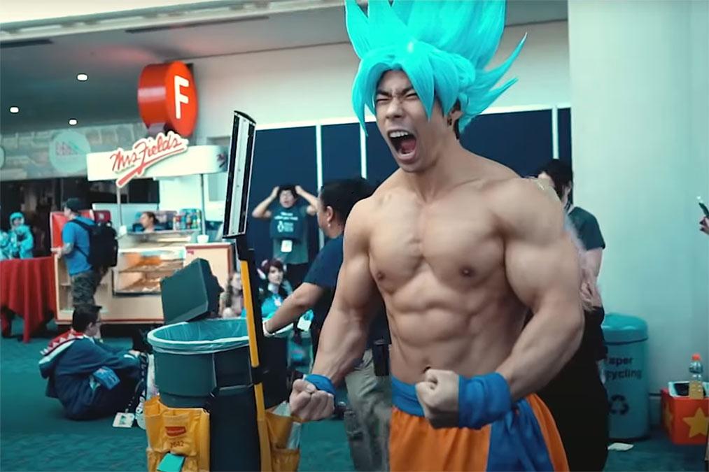 Goku Cosplay Dragon Ball Z