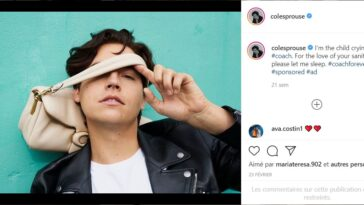 Riverdale Instagram Cole Sprouse