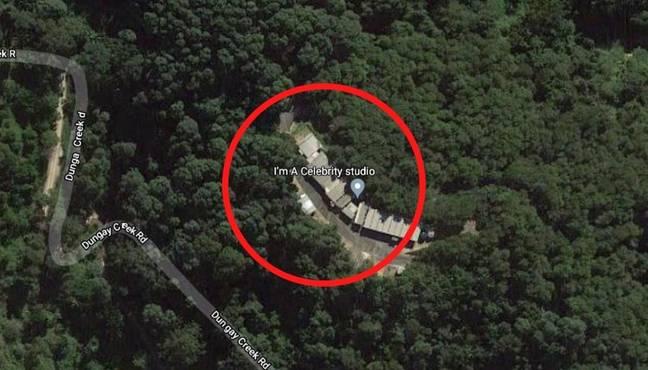 Je suis un emplacement Celebrity Google Maps en Australie.  (Crédit: GoogleMaps)