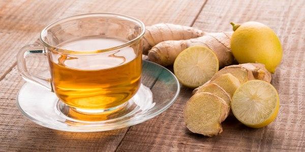 Thé au sucre brun au gingembre et au citron de Martha Stewart