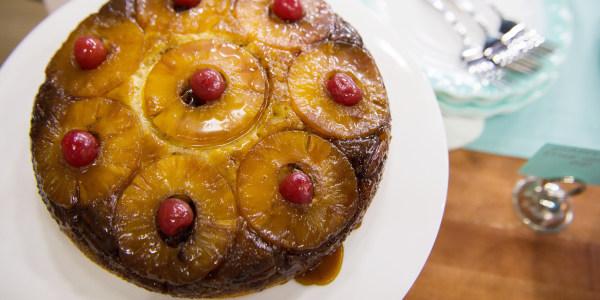 Gâteau renversé à l'ananas facile de Martha Stewart