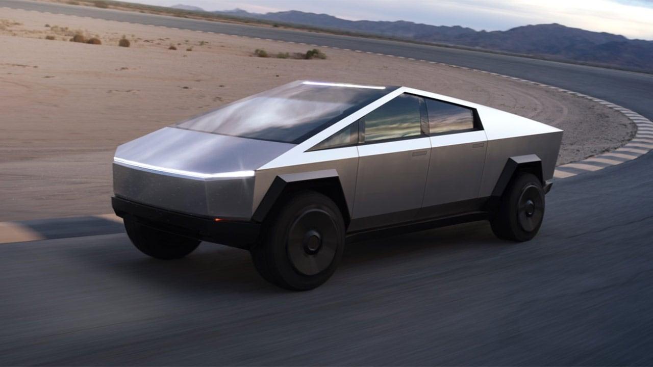 Le Cybertruck haut de gamme devrait avoir une autonomie de plus de 800 kilomètres.  Image: Tesla