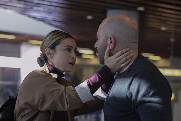 """Moran Rosenblatt incarne Tali Shapira dans """"Hit & Run"""" (Photo : Hit & Run / Netflix)"""