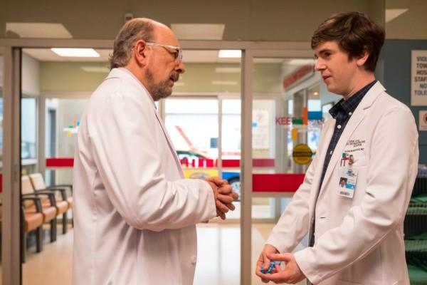 Shaun et le Dr Glassman.  Photo: (ABC)