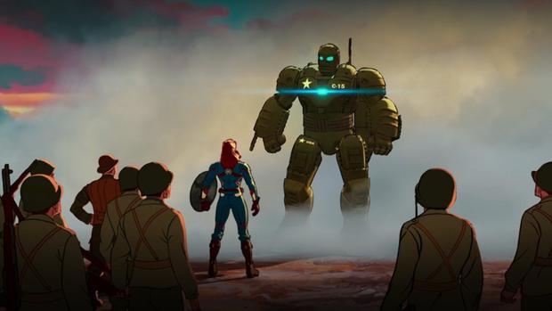 Howard Stark construit HYDRA Stomper pour Steve Rogers (Photo: Marvel / Disney +)