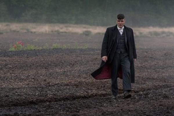 Cillian Murphy dans le rôle de Tommy Shelby.  Photo: (BBC)