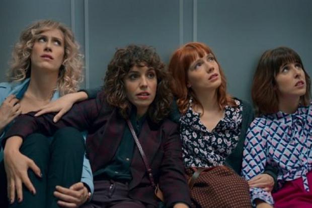 Les amis de Valeria l'empêchent d'abandonner ses rêves (Photo : Netflix)