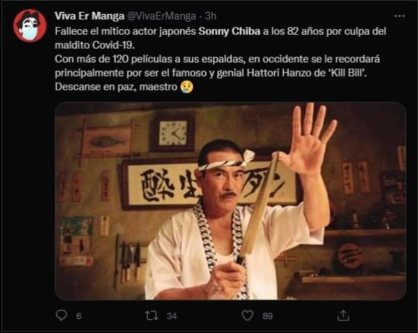 sonny chiba viré sur twitter 1