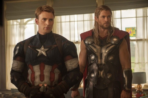 Captain America et Thor.  Photo: (IMDB)