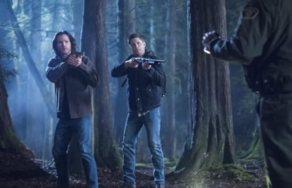 Jared Padalecki et Jensen Ackles.  Photo: (IMDB)