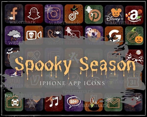 icônes d'halloween