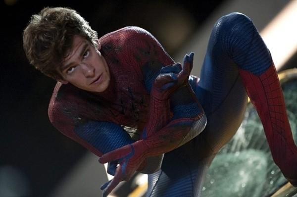 Andrew Garfield dans le rôle de Spiderman.  Photo: (IMDB)