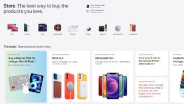 Apple Store Relancé Avec Un Tout Nouveau Look : Découvrez