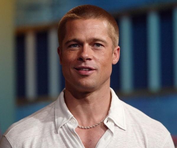 Brad Pitt en tant que jeune homme.  Photo: (Getty)