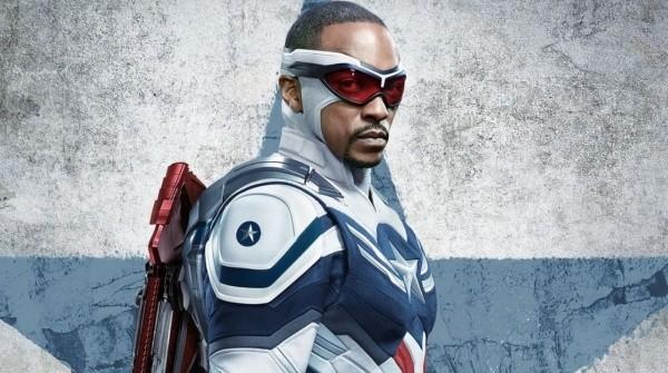 Anthony Mackie dans le rôle de Captain America.  Photo: (Disney Plus)
