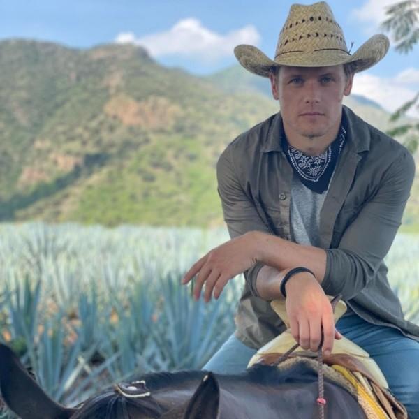 Sam Heughan en vacances au Mexique.  Photo : (@samheughan)