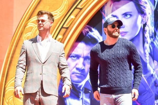 Chris Evans et Chris Hemsworth sont de grands amis.  Photo: (Getty)