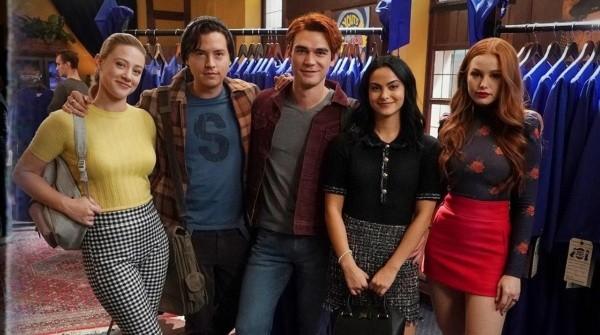 Les protagonistes de Riverdale.  Photo: (La CW)