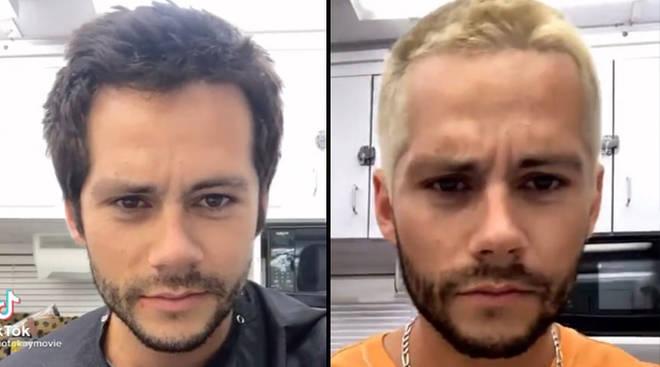 Dylan O'Brien devient blonde pour le film Not Okay de Hulu