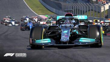 F1 2021 Patch 1.05 corrige le lancer de rayons sur PS5