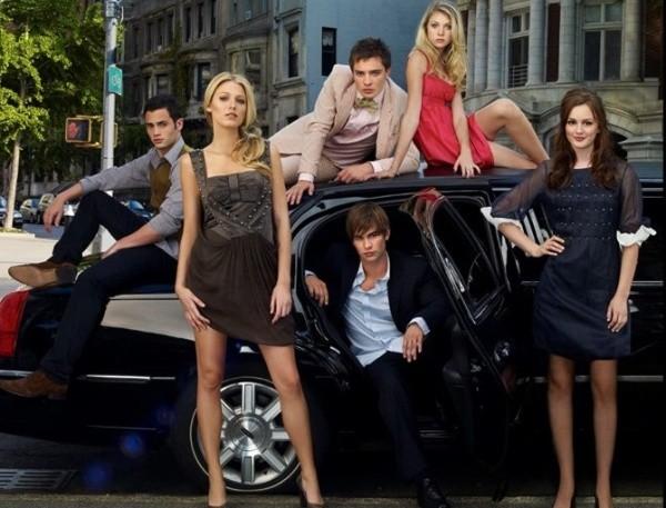 Le casting original de Gossip Girl.  Photo: (IMDB)