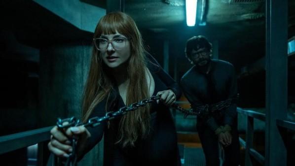 Le professeur a été capturé par l'inspecteur Sierra.  Photo: (Netflix)