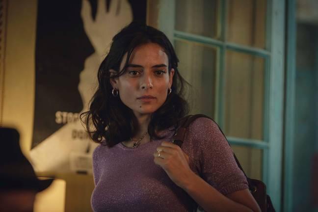 Nailia Harzoune dans le rôle de Judith.  Crédit : Netflix