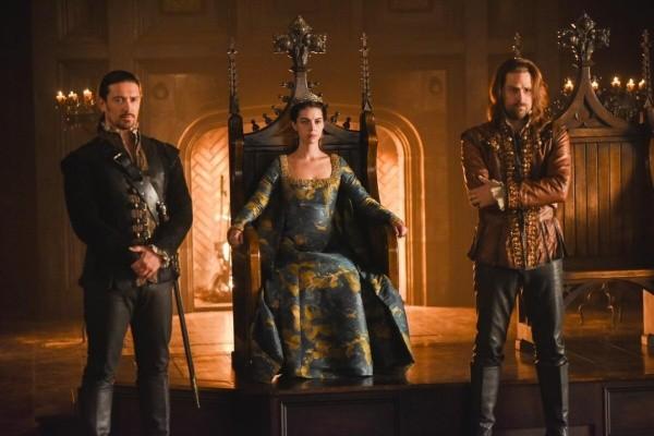 Les protagonistes de Reign.  Photo: (La CW)