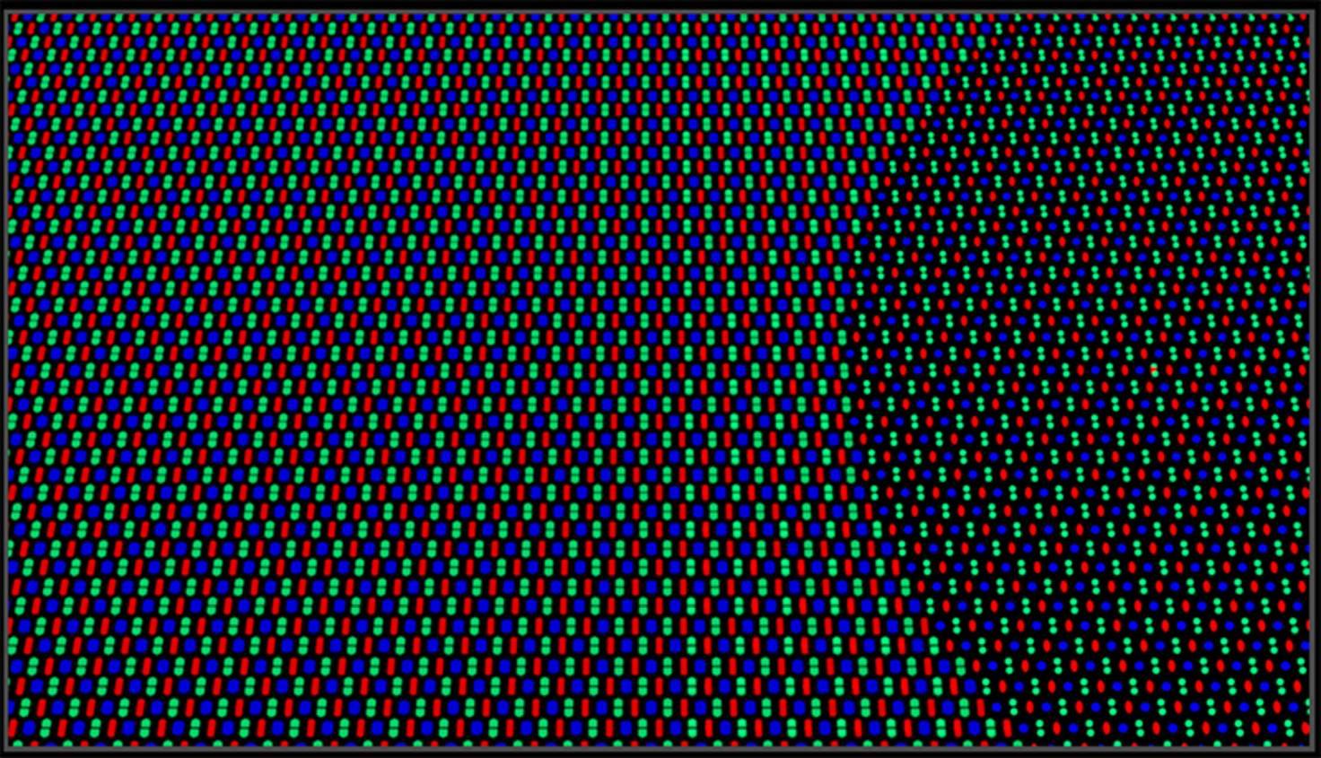 Matrice de pixels Oppo
