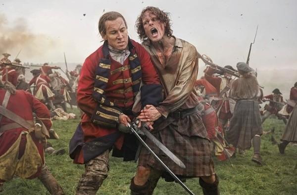 La scène d'Outlander la plus importante de la bataille de Culloden.  Photo: (IMDB)