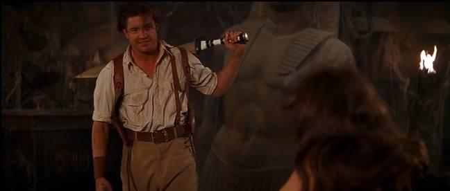 Brendan Fraser dans La Momie (1999).  (Crédit: Universel)
