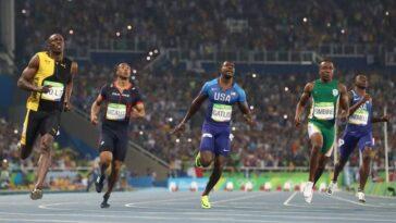 Trayvon Bromell a affronté Usain Bolt aux Jeux olympiques de Rio 2016.  (Crédit: PA)