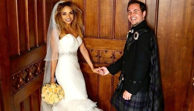 Martin Compston et Tianna Chanel Flynn se sont mariés en 2016. (Crédit: Instagram/@tianna_flynn)