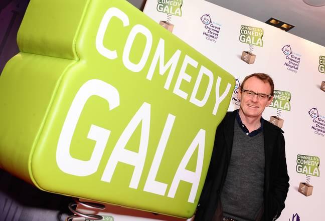 Sean Lock au gala d'humour de Channel 4 en 2010. (Crédit: PA)