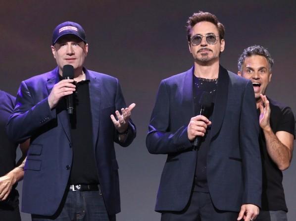 Kevin Feige et Robert Downey Jr. Photo : (Getty)