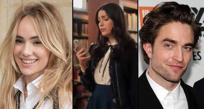 Suki Waterhouse critique le redémarrage de Gossip Girl pour une ligne sexiste sur sa relation avec Robert Pattinson.
