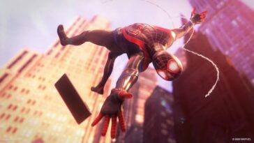 Tableaux des ventes au Royaume-Uni: Spider-Man: Miles Morales est le héros de la PS5, mais il ne peut pas attraper F1 2021