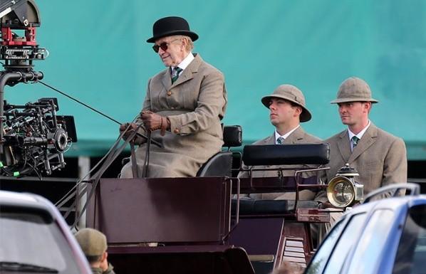 Jonathan Pryce dans le rôle du Prince.  Photo: (Stevenage)